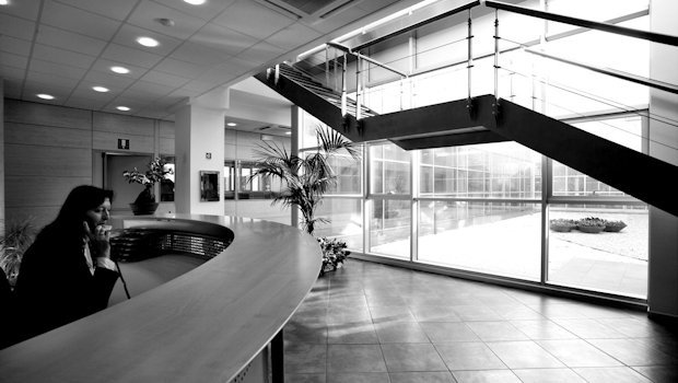 Reception, Empoli HQ (Florence - Italy).