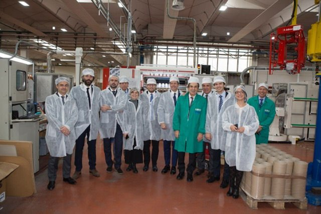 You are currently viewing Luca Lotti, the Undersecretary to the Prime Minister's Office, visits Irplast
