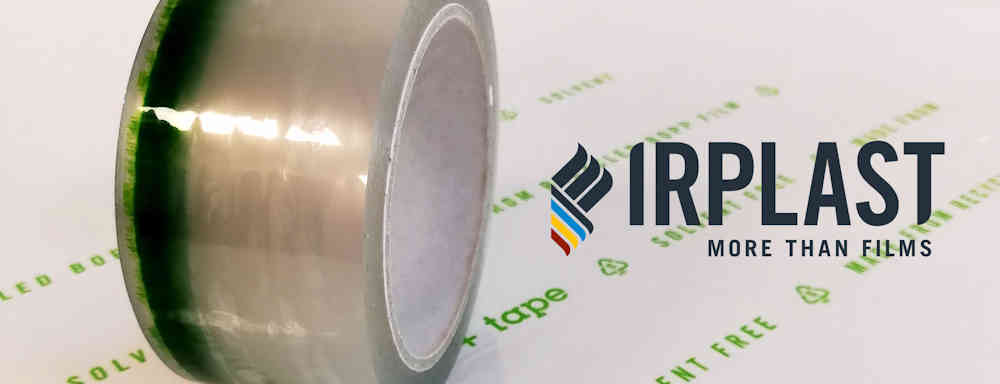 """IRPLAST LAUNCHES """"ECO+ TAPE"""": THE NEW ADHESIVE TAPE MADE OF IRPLAST POST-INDUSTRIAL RECYCLED BOPP"""